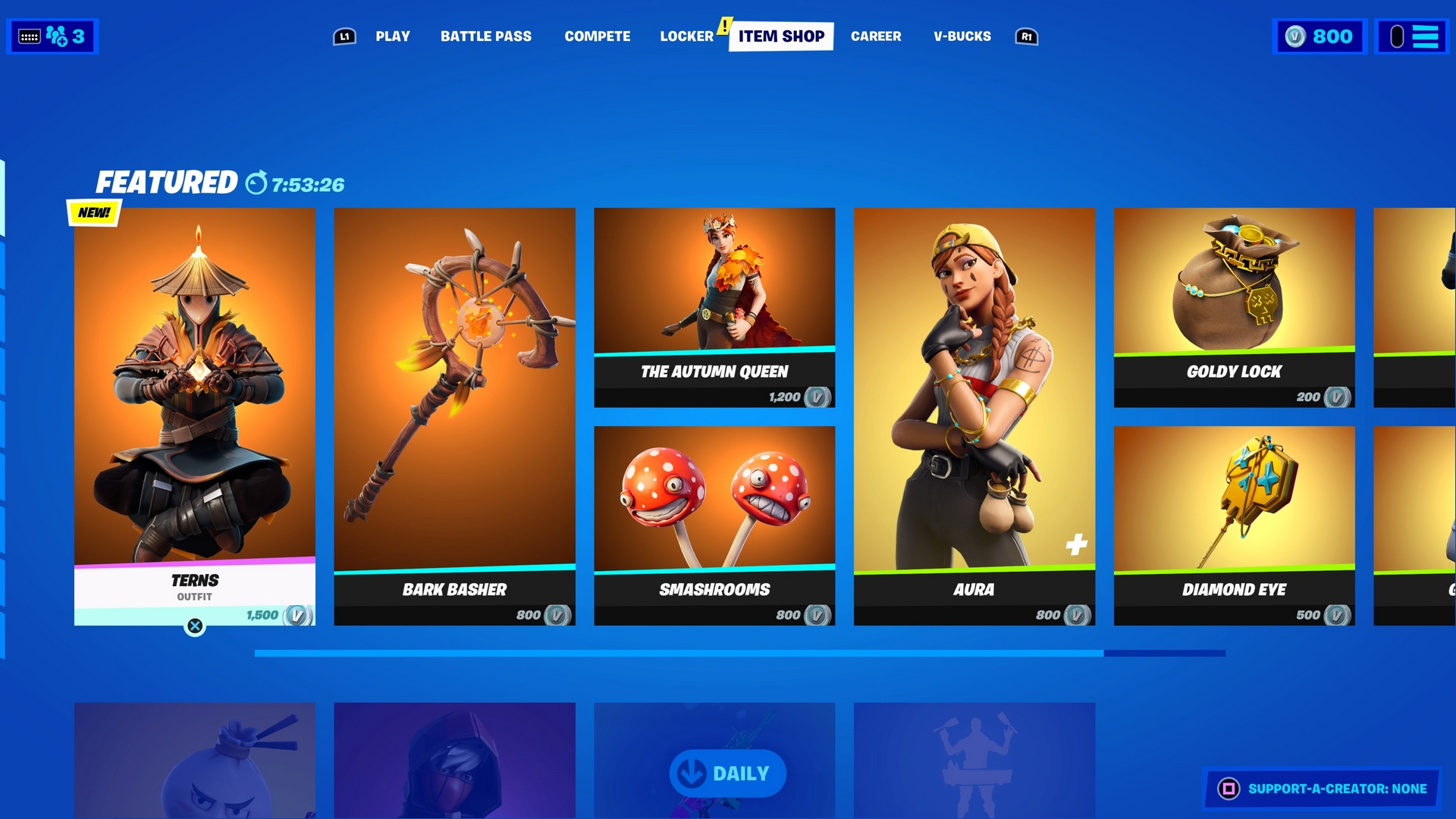 Fortnite Item Shop