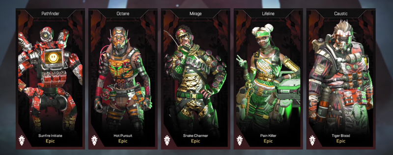 Legendary Hunt Apex skins