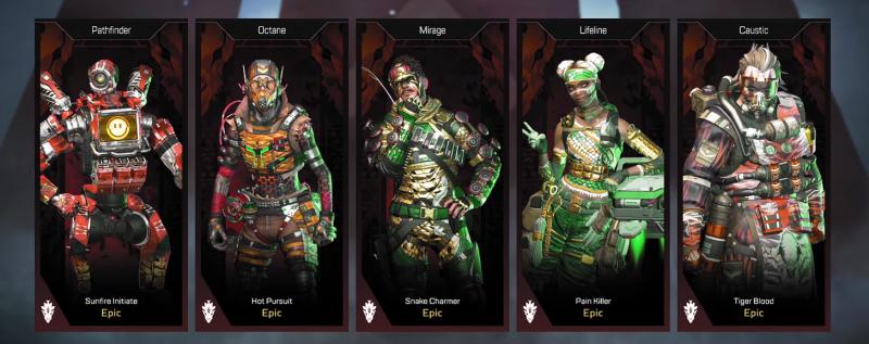 Legendary Hunt Apex skins