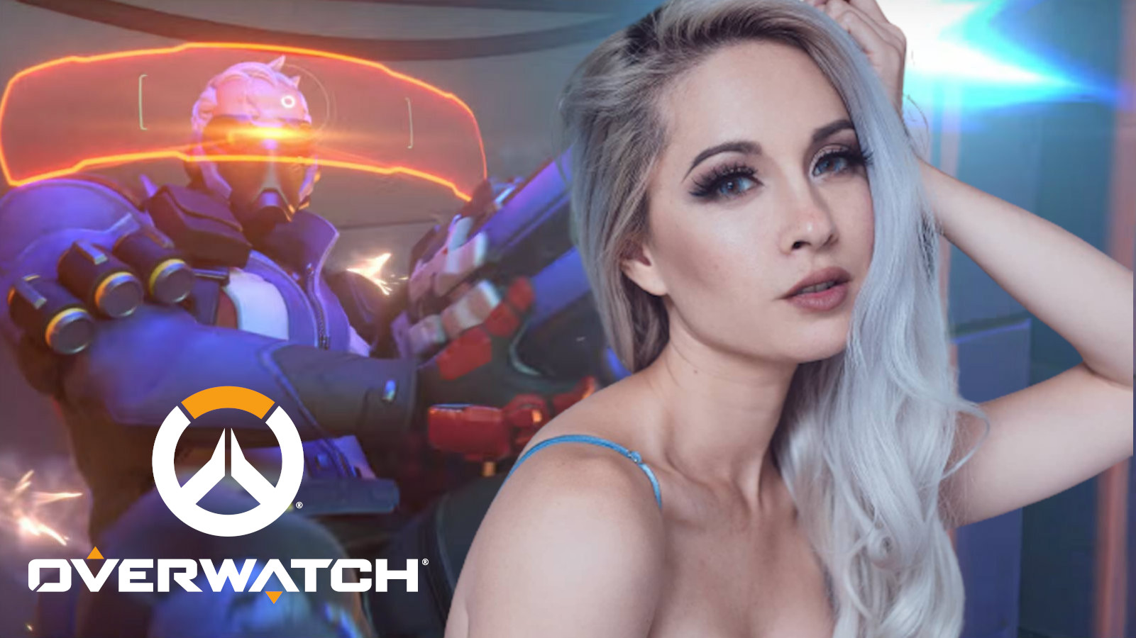 Female Soldier 76 cosplay from Overwatch
