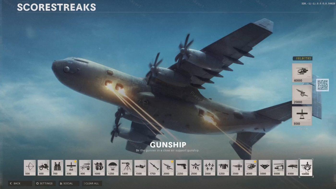 Black Ops Cold War Gunship