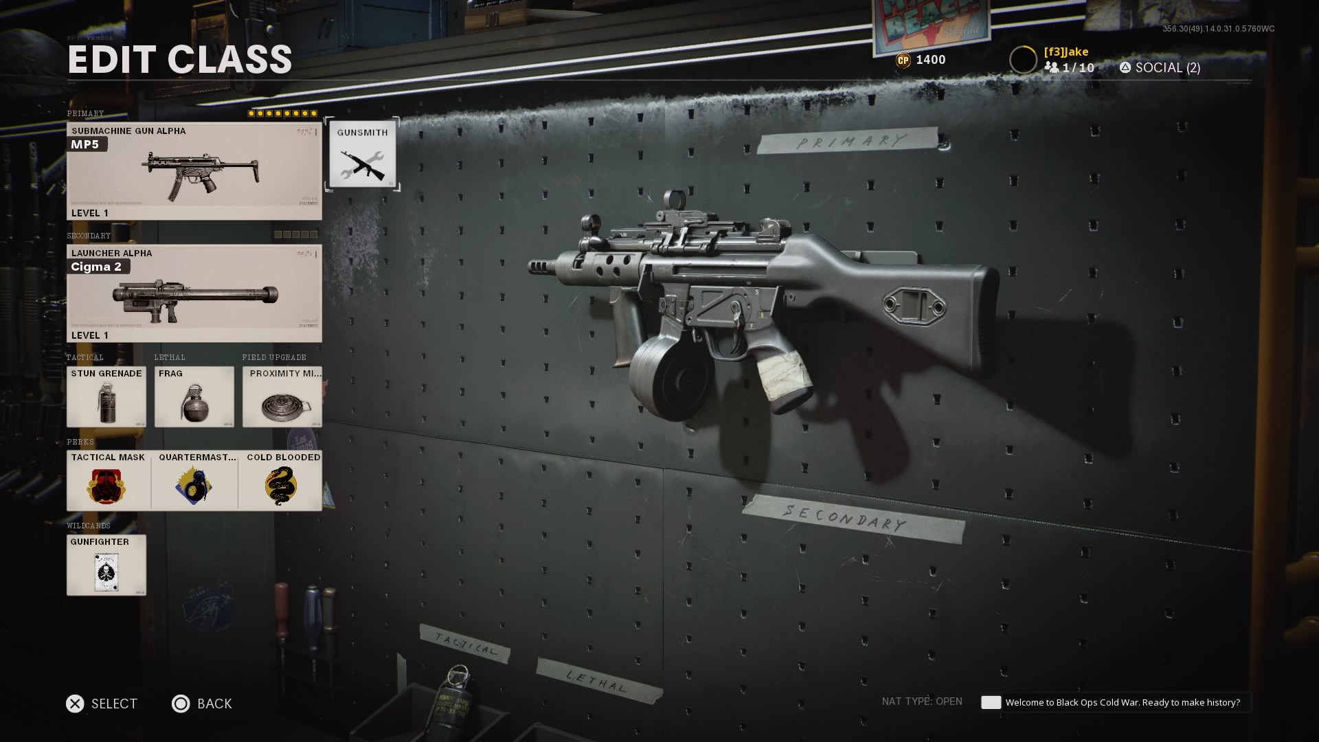MP5 accuracy loadout black ops cold war