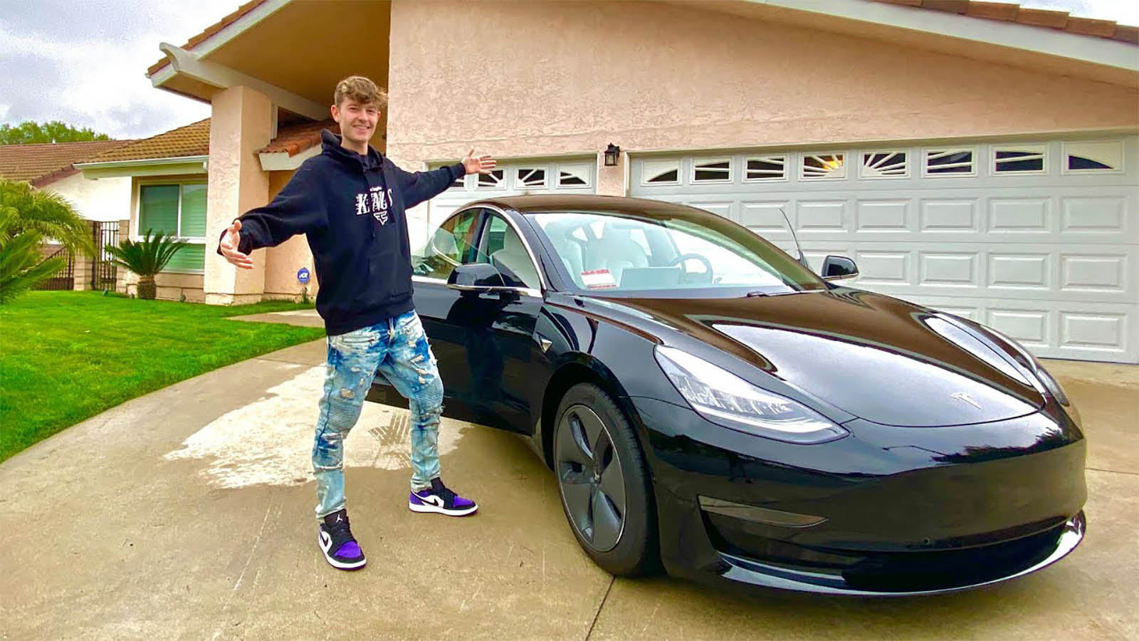 FaZe Blaze Tesla Model 3