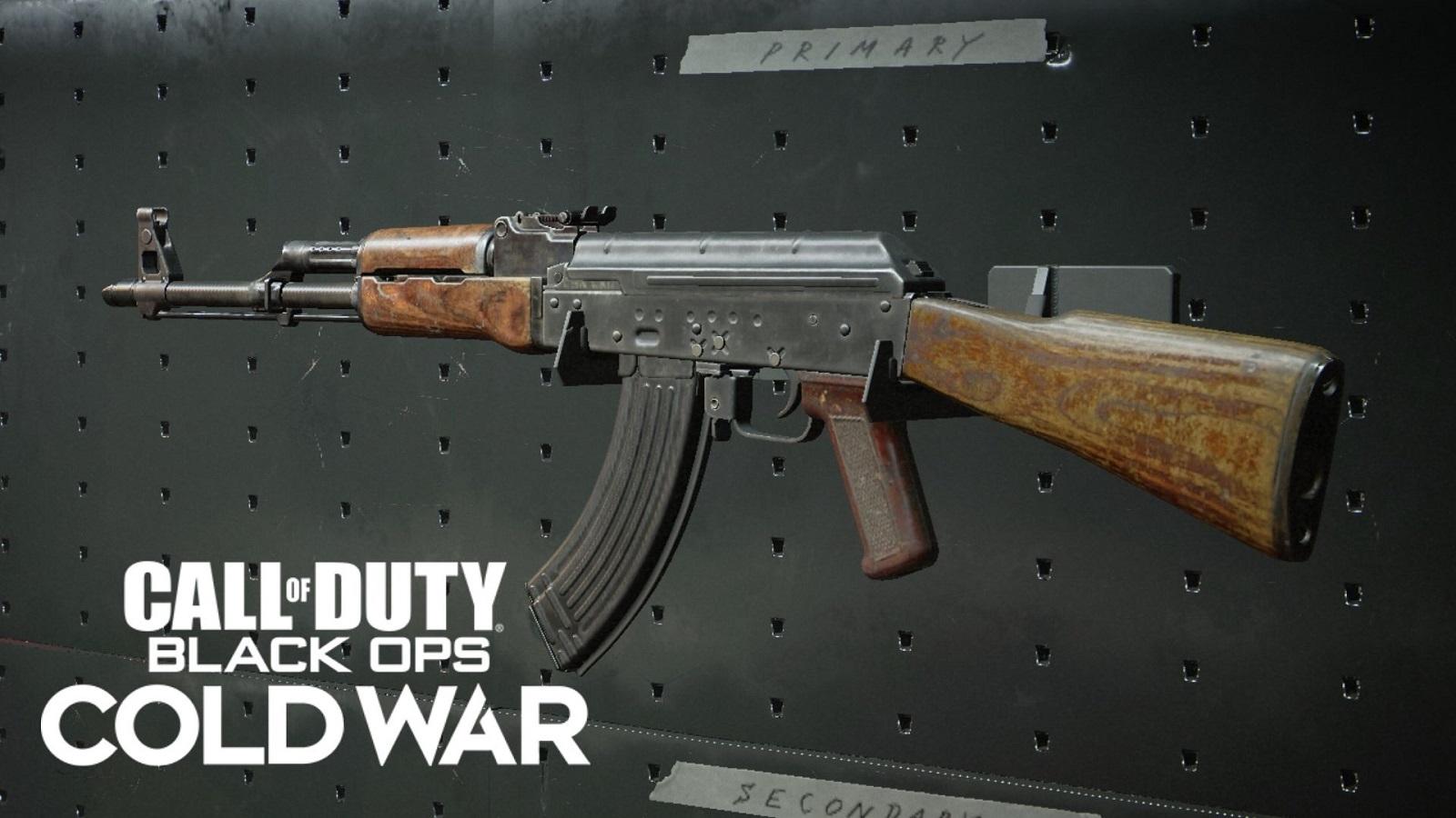 AK-47 Black Ops Cold War