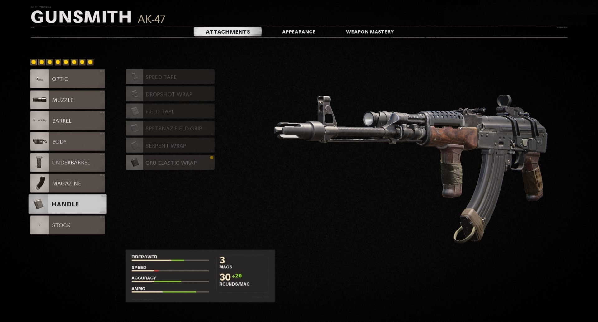 AK-47 Black Ops Cold War