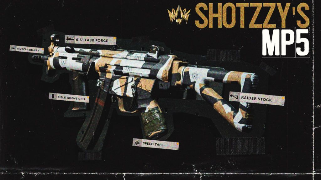 Shotzzy MP5 Dallas Empire Black Ops Cold War