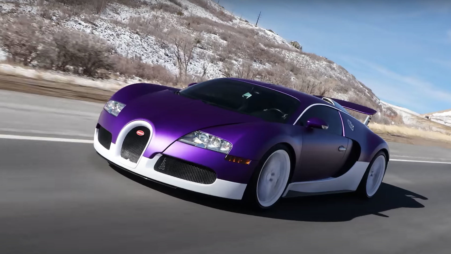 TheStradman Purple Veyron