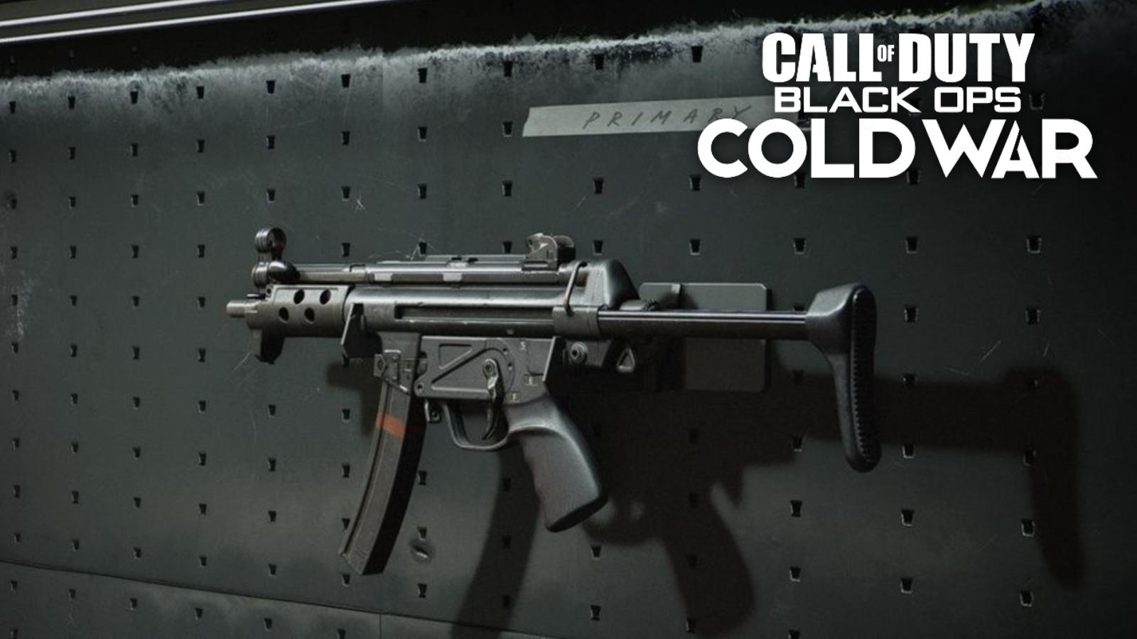 best MP5 loadouts Black Ops Cold War