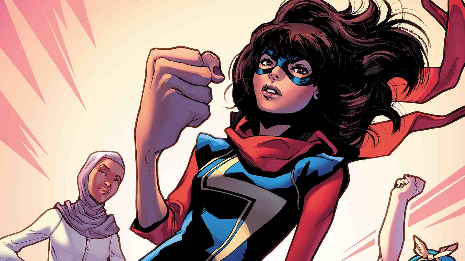 Kamala Khan as Ms Marvel