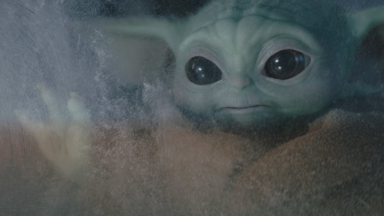 baby yoda in the mandalorian