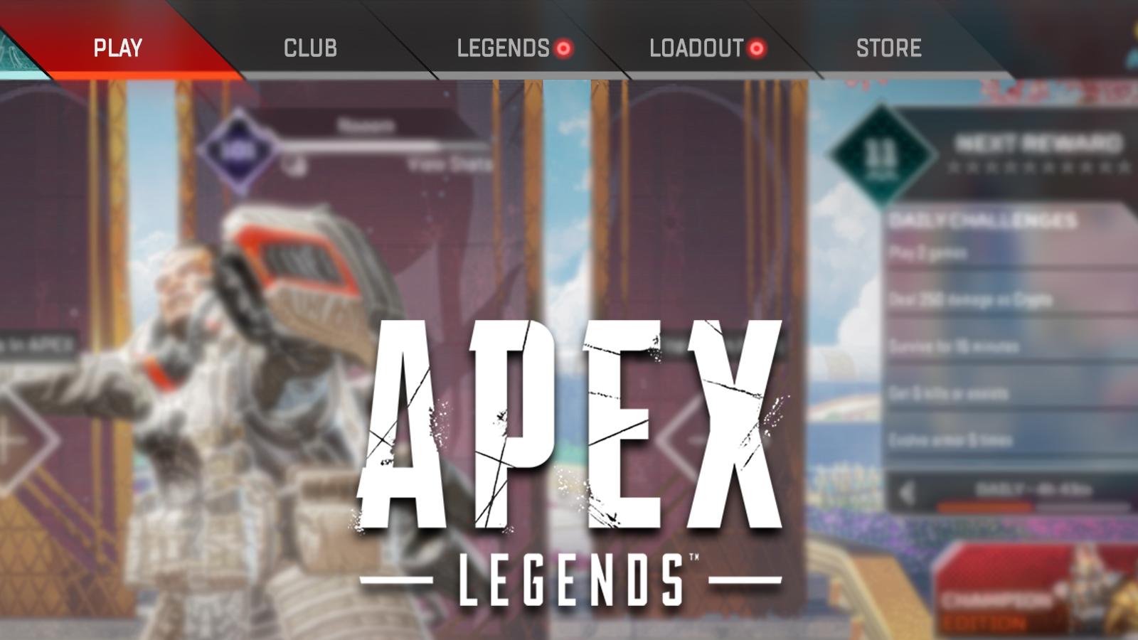 apex legends menu