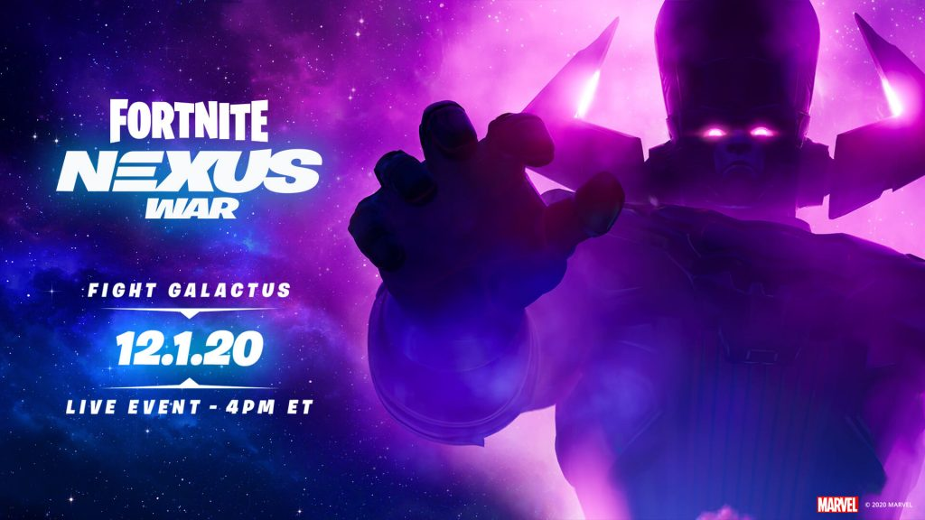 Fortnite Galactus event