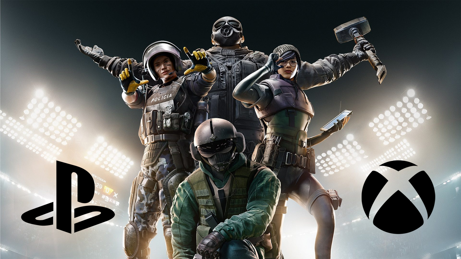 Rainbow Six Siege on Xbox Series X and PS5