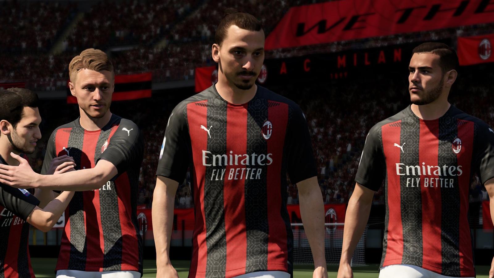 Zlatan Ibrahimovic in FIFA 21