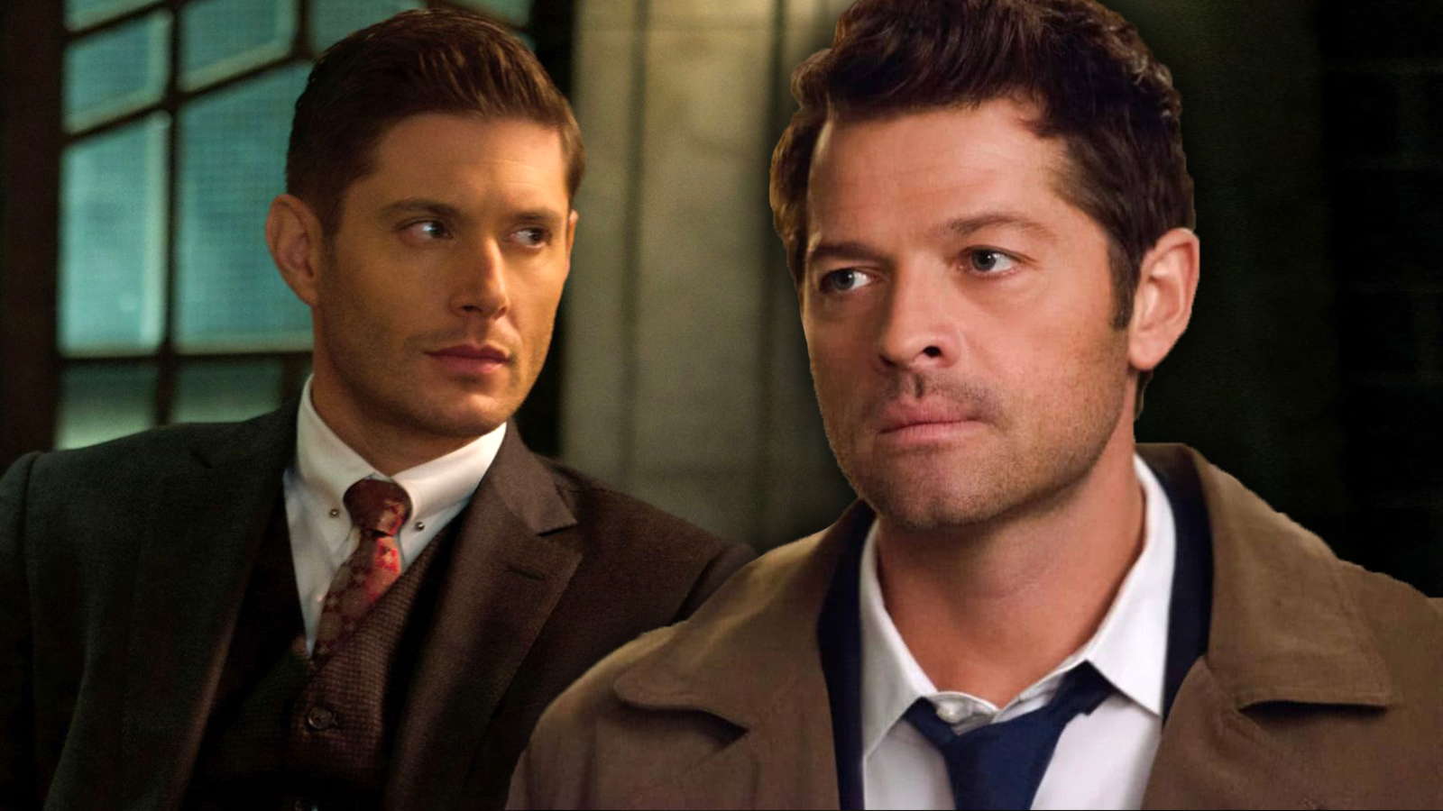 Dean and Castiel in Supernatural