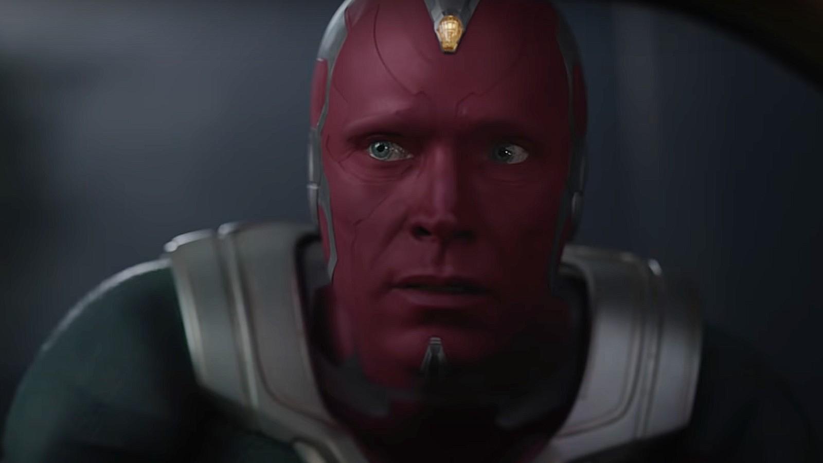 Vision in Marvel's WandaVision trailer
