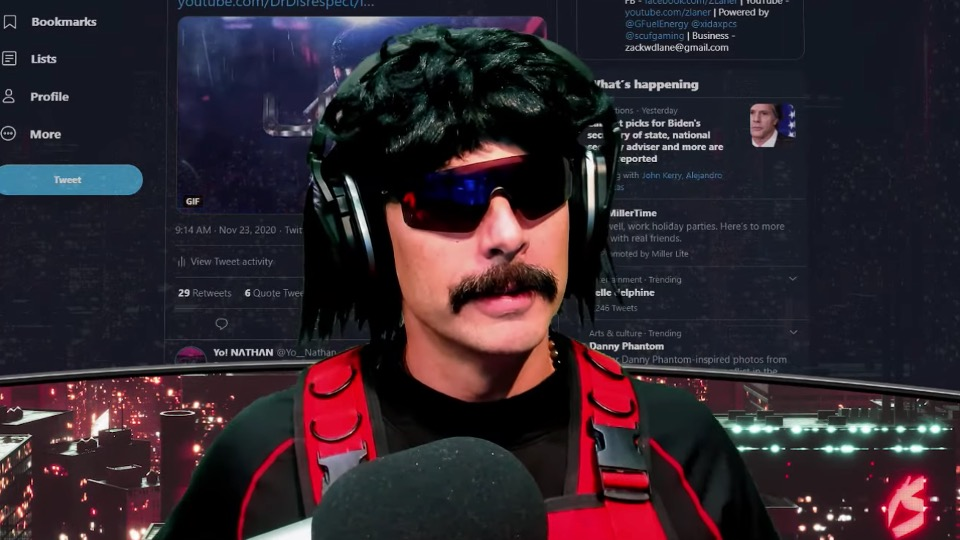 Dr Disrespect mobile gamers