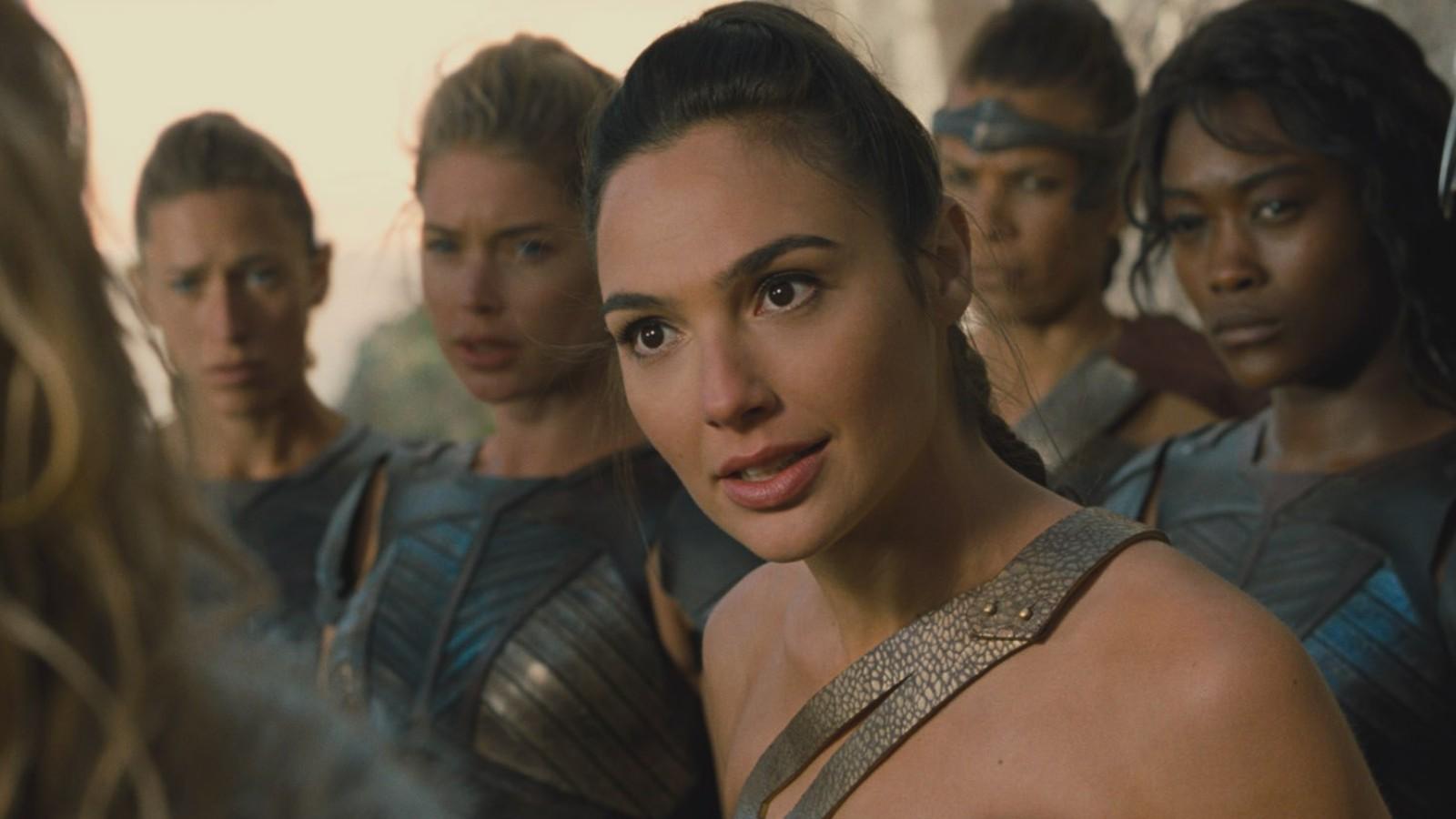 Wonder Woman in Themyscira