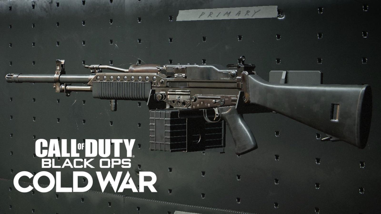 Stoner 63 Black Ops Cold War