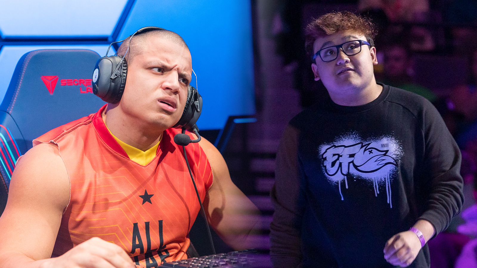 Tyler1 and MkLeo