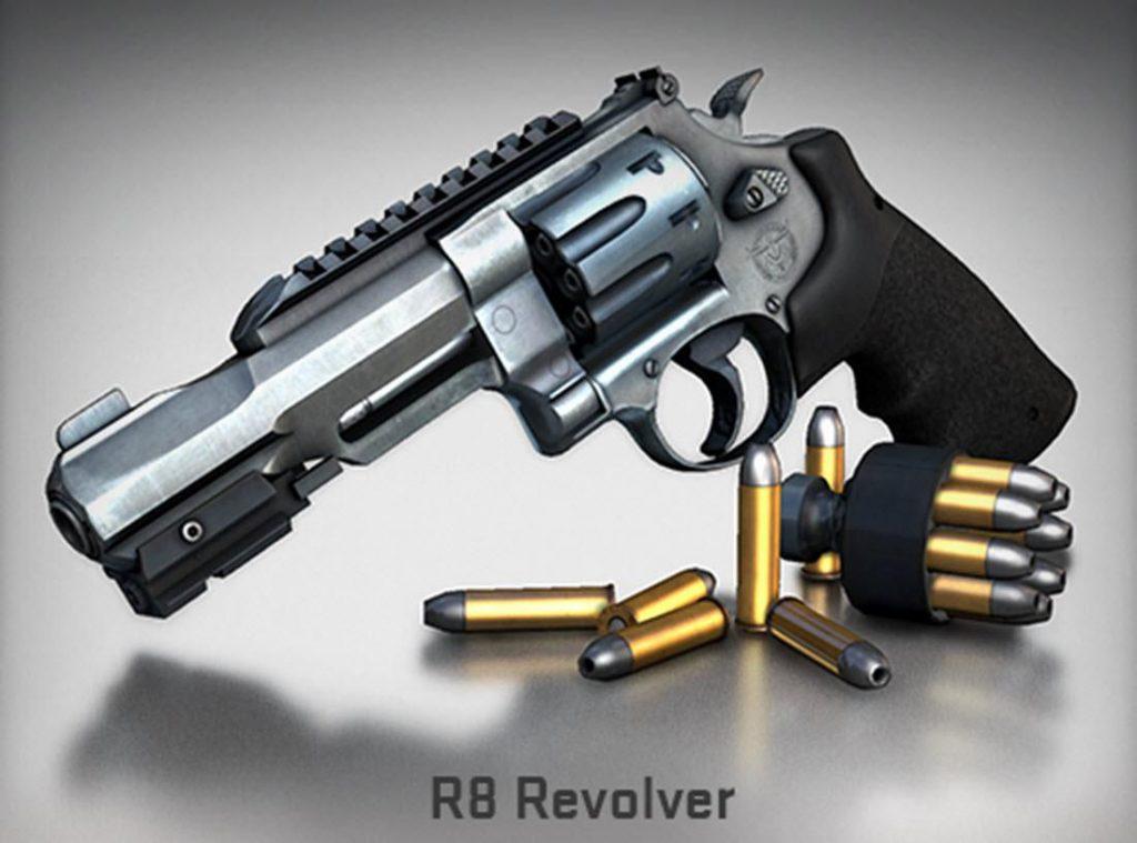 R8 Revolver in CSGO