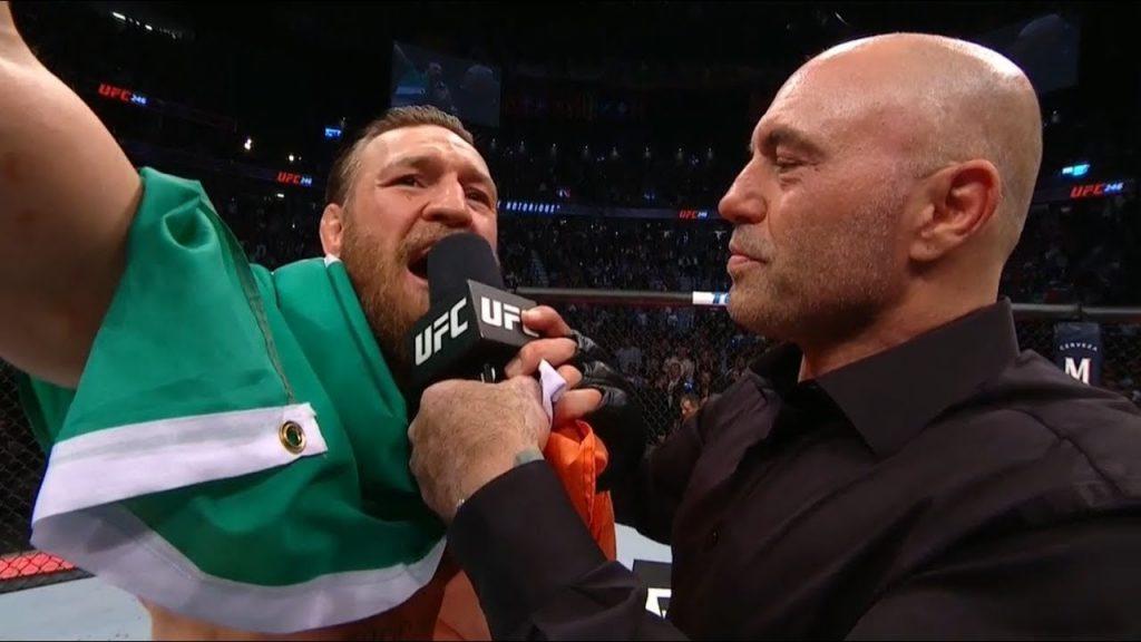 joe rogan interviewing conor mcgregor