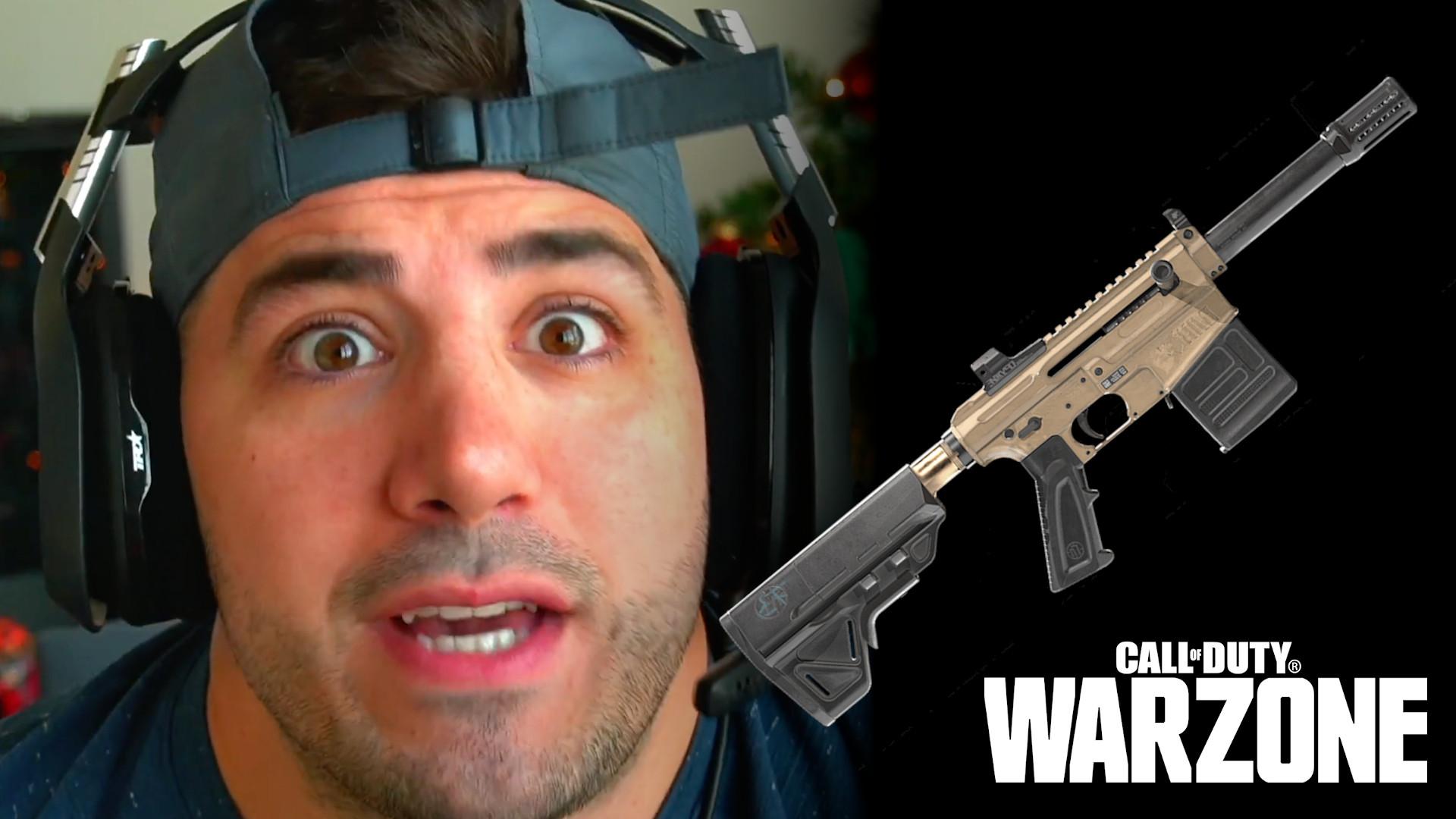 nickmercs vlk rogue shotgun warzone