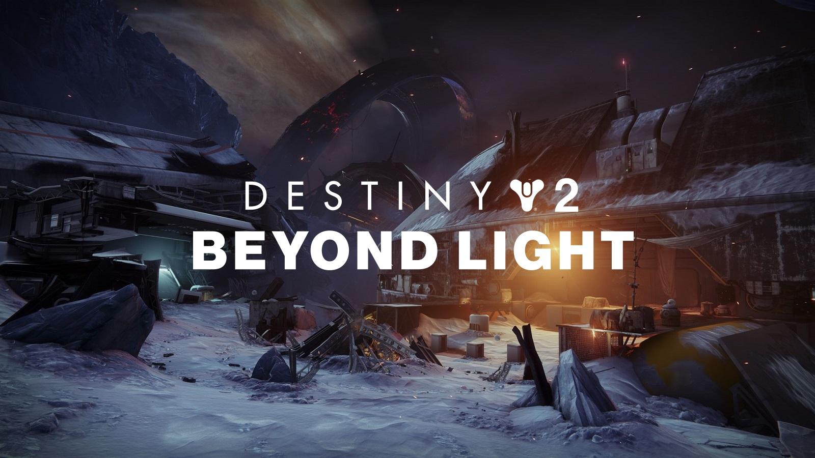 Destiny 2 Beyond Light Deep Stone Crpyt Final Encounter With Logo