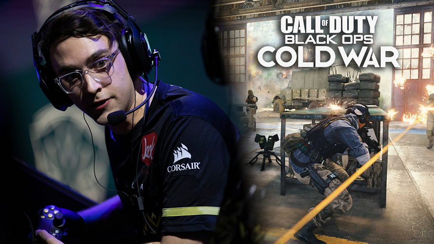 Clayster playing Black Ops Cold War