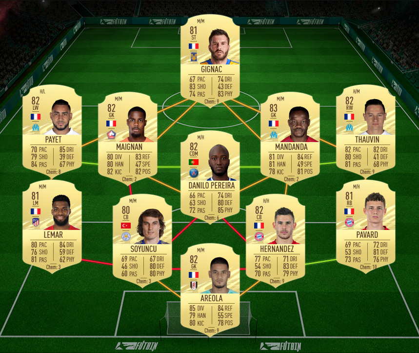 A cheap solution to Wes Morgan's Player Moments SBC.