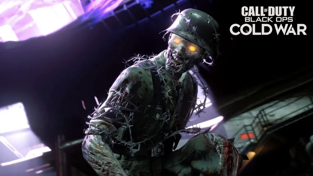 Zombies character in Black Ops Cold War