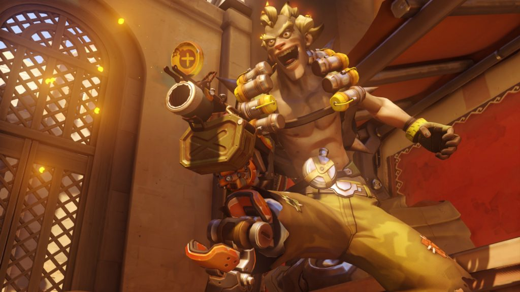 Junkrat on Temple of Anubis