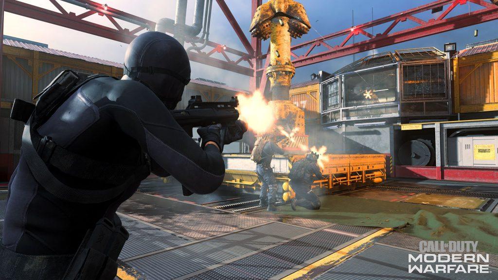 Modern Warfare gameplay