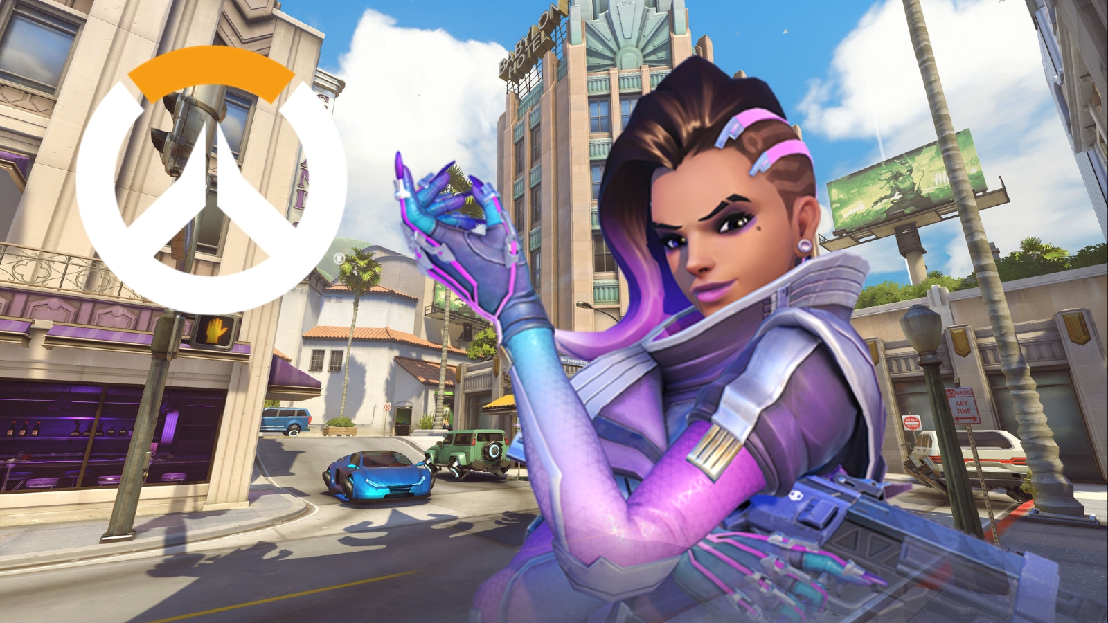 Sombra Hollywood Overwatch