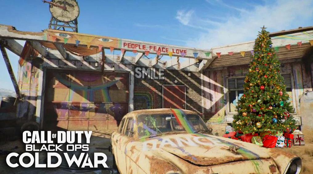 Black Ops Cold War Nuketown gameplay
