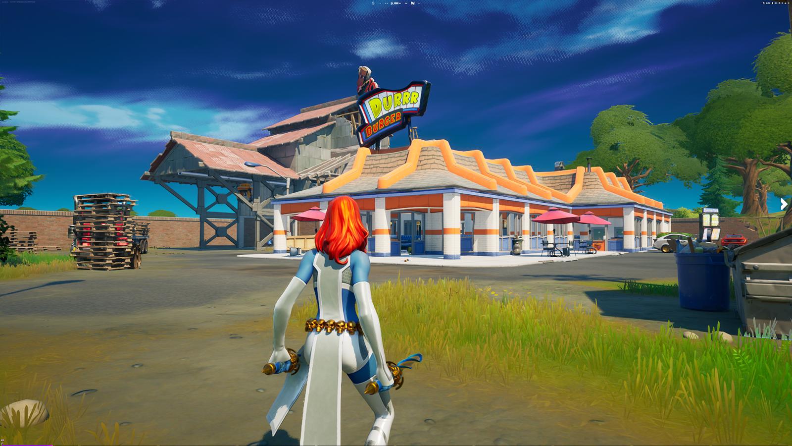 Durr Burger, a new POI in Fortnite's new season