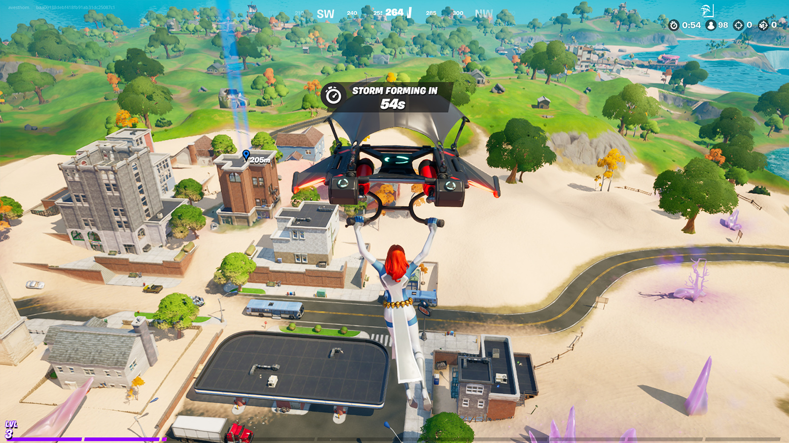 Tilted Towers is back as Salty Towers in the new update