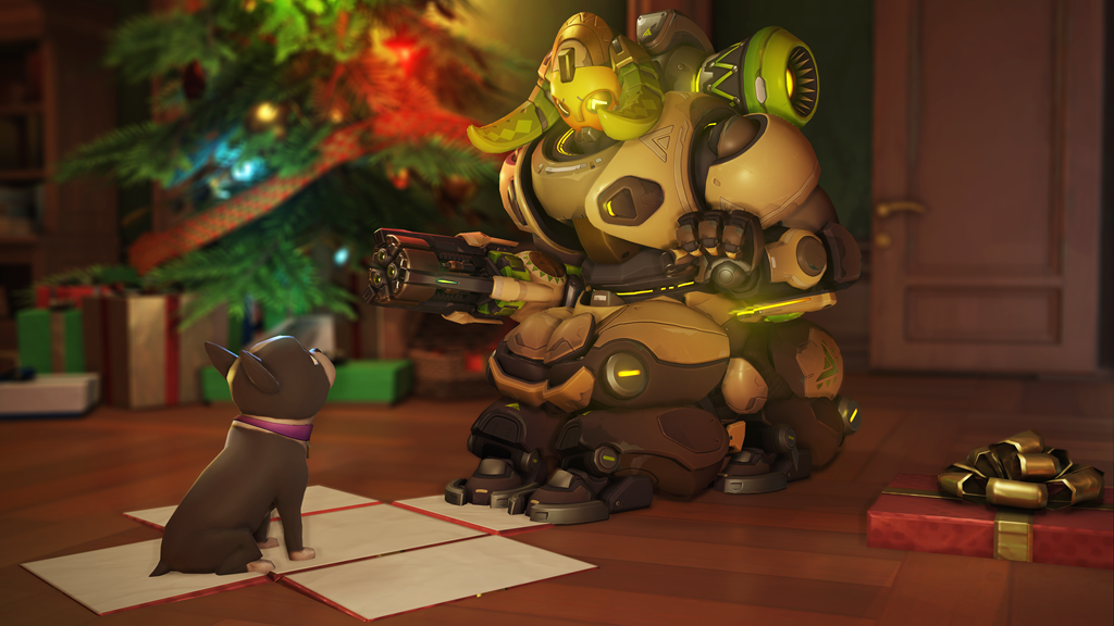 Orisa gets puppy for Christmas