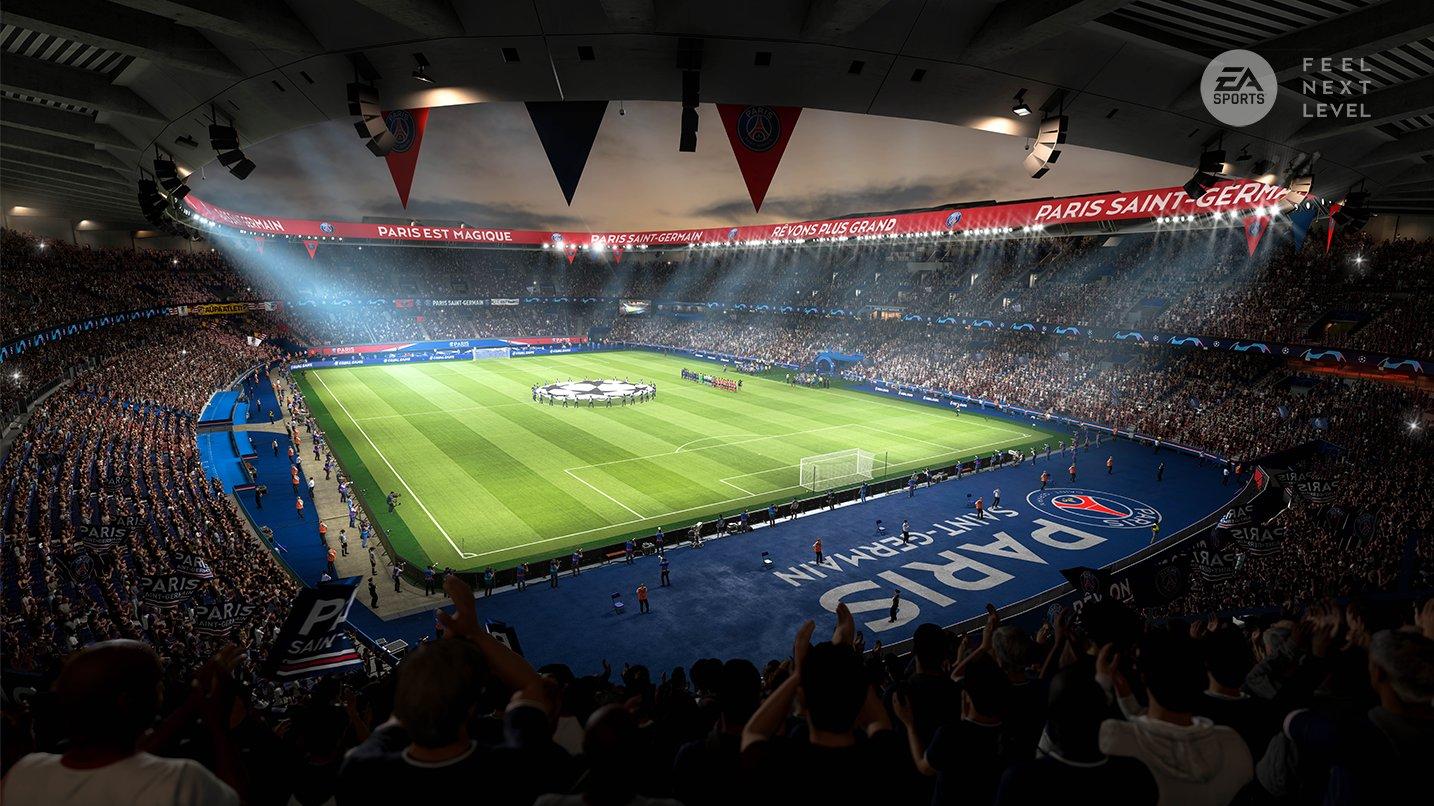 FIFA 21 next gen stadium psg