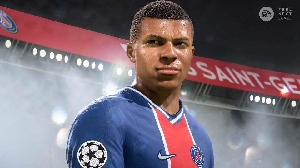 FIFA 21 next-gen graphics