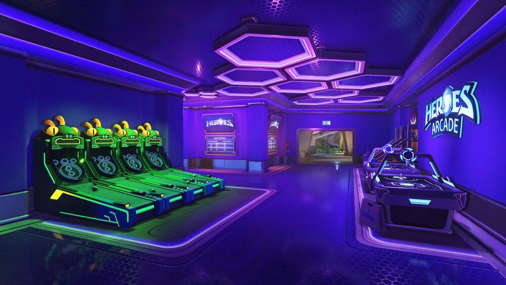 Overwatch Blizzard World Heroes Arcade