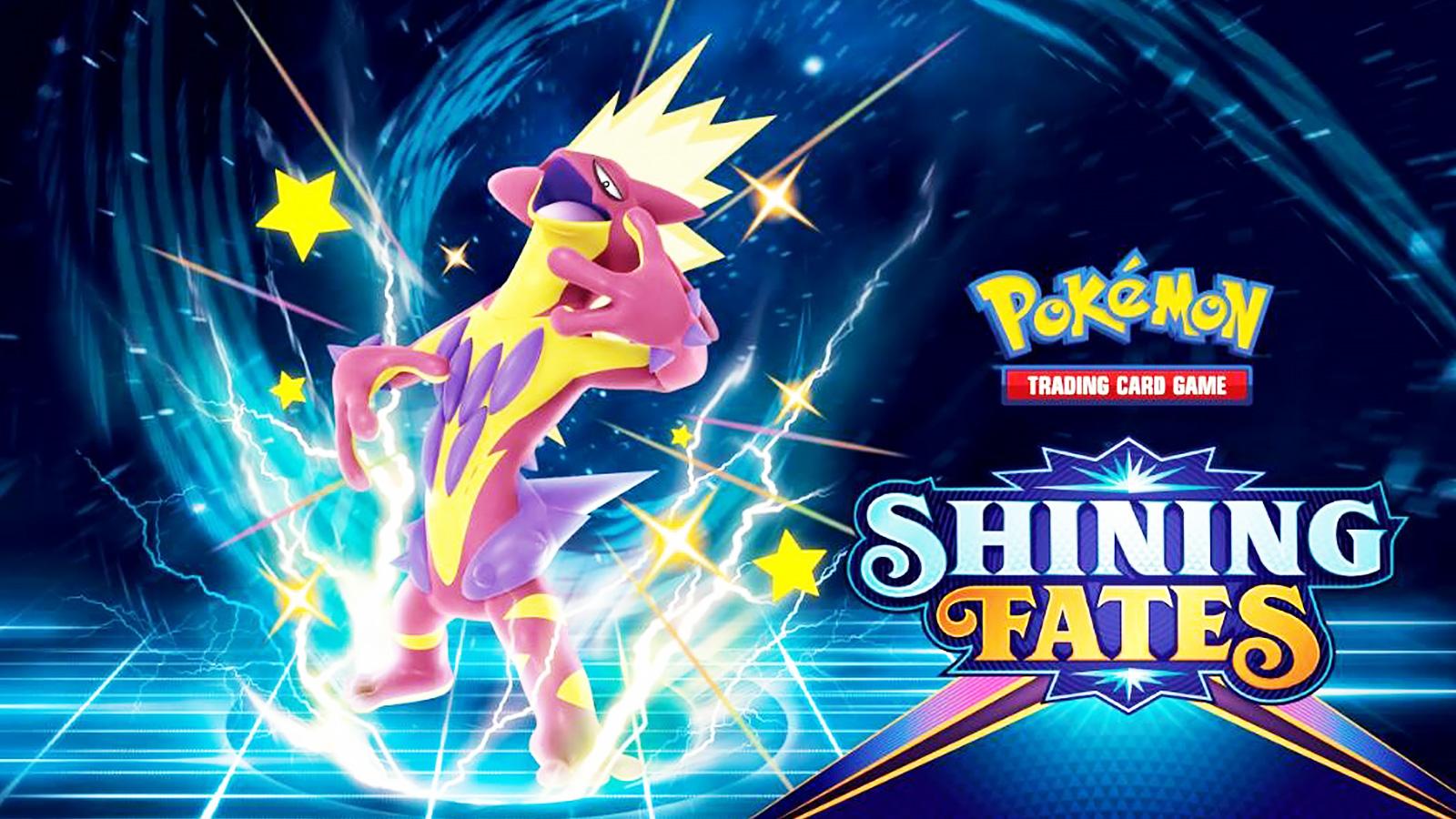 Screenshot of Pokemon Trading Card Game set Shining Fates.