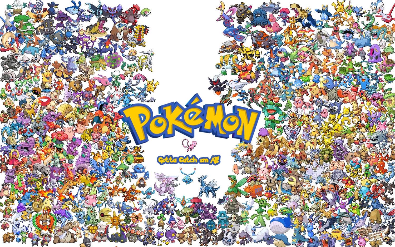 Screenshot of Pokemon promotion featuring Mew.