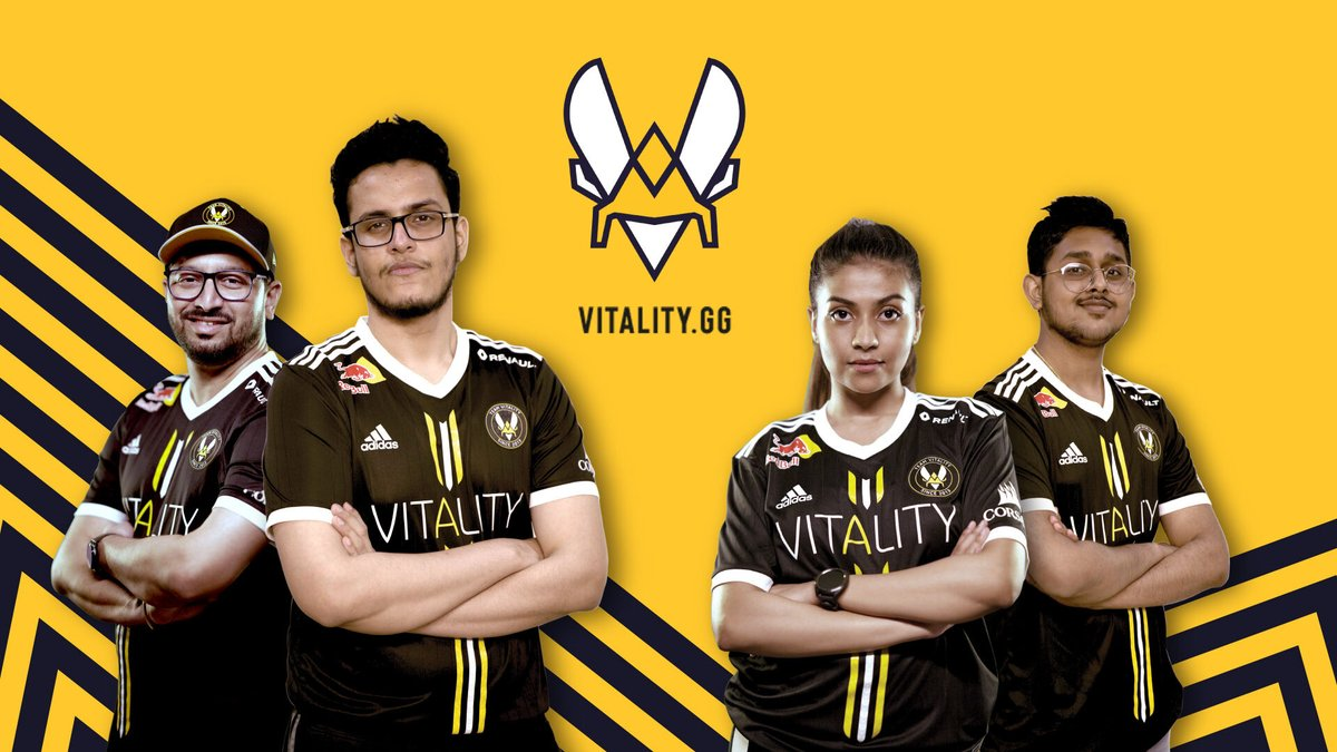 Team Vitality signs four Indian content creators