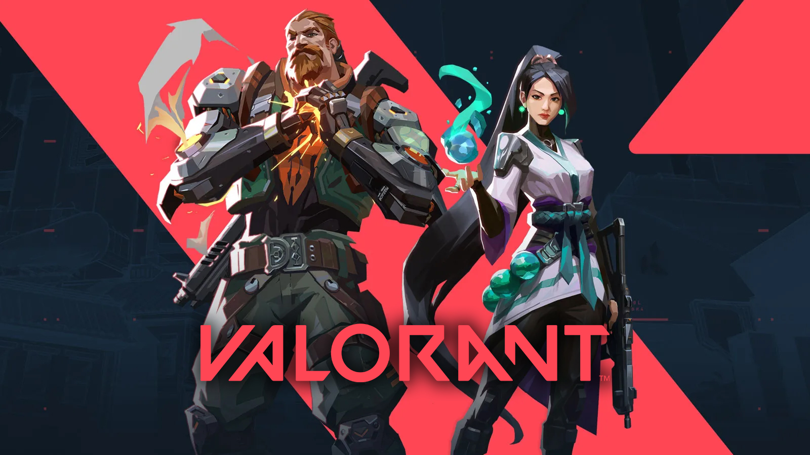 Breach and Sage in Valorant