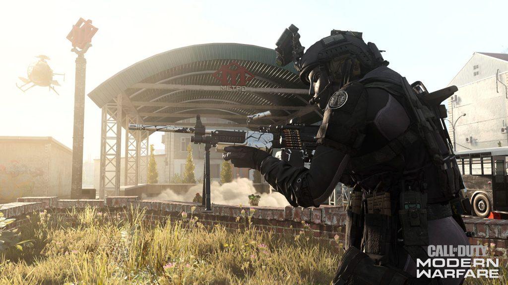 Warzone character running