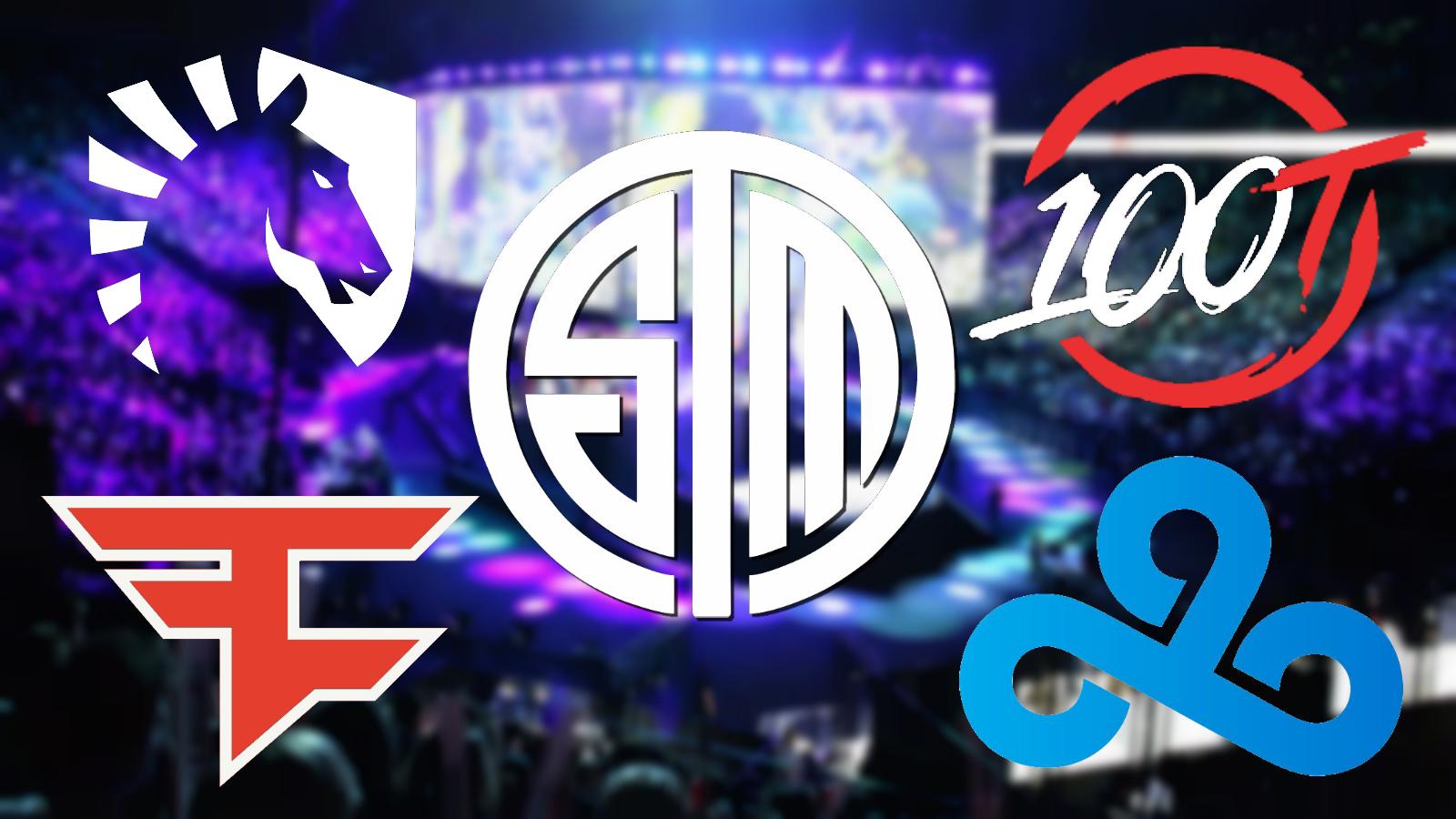 Esports team logos