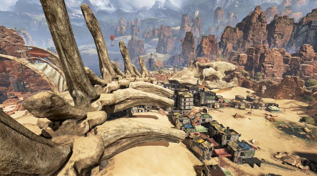 Apex Legends Kings Canyon Skull Town