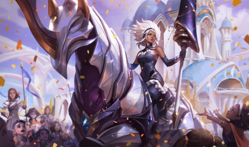 Battle Queen Rell in League of Legends
