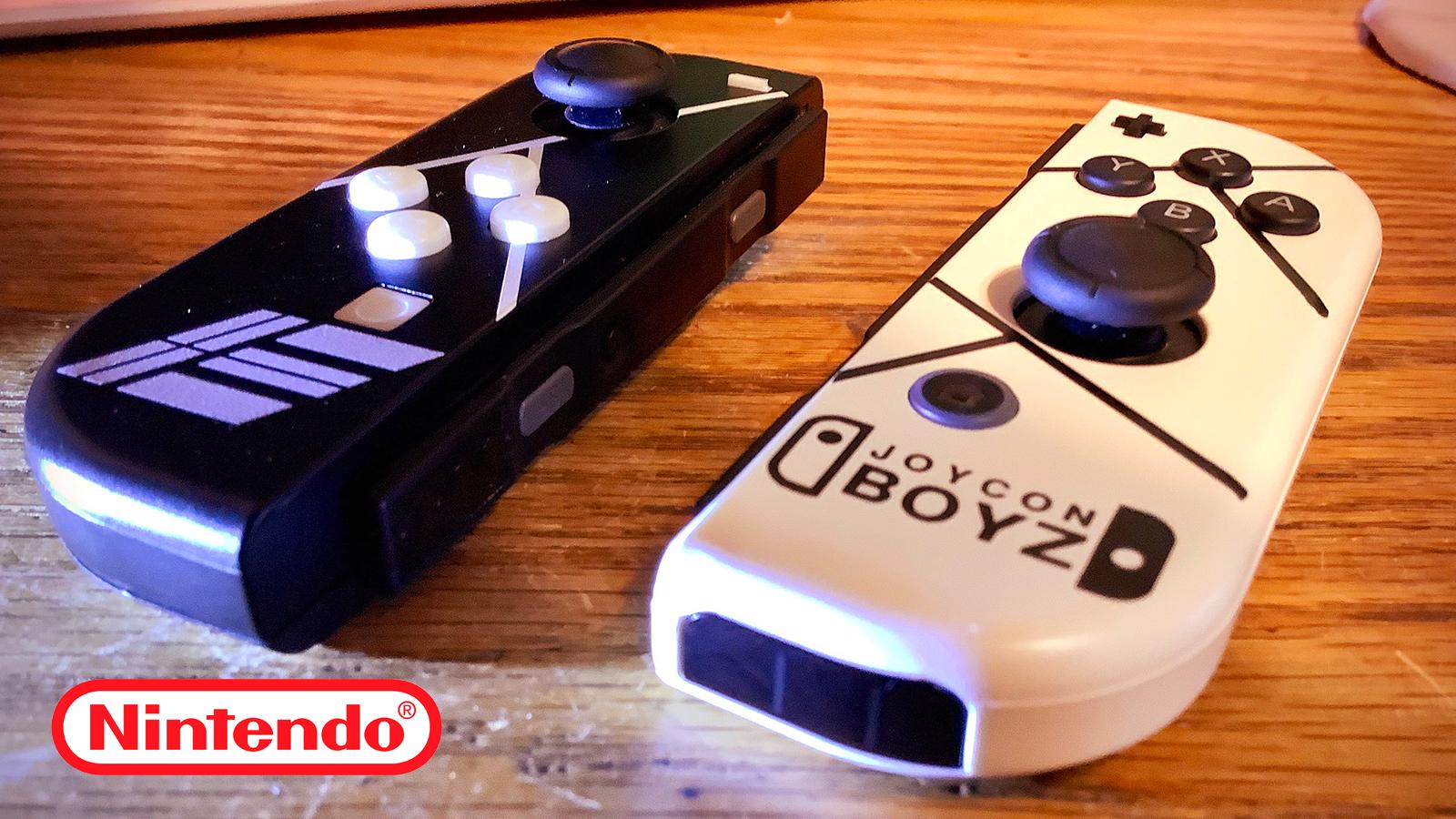 Nintendo Etikons Joycons Backlash